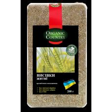 Отруби ржаные органические, Украина, 200 г, ORGANIC COUNTRY