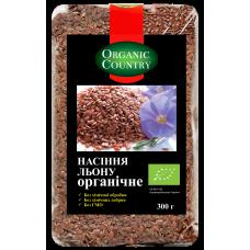 Семена льна органические, Украина, 300 г, ORGANIC COUNTRY