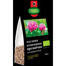 Семечка клевера для проращивания органическая, Украина, 100 г, ORGANIC COUNTRY