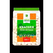 Фасоль белая крупная, 300 г, NATURAL GREEN