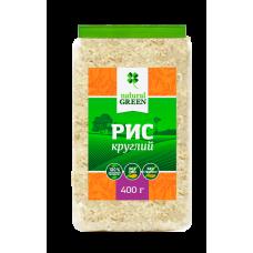 Рис круглый, 400 г, NATURAL GREEN