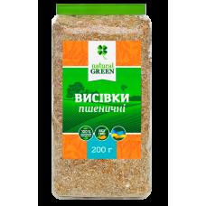 Отруби пшеничные, 250 г, NATURAL GREEN