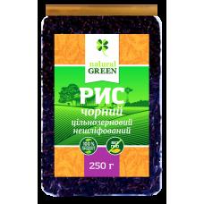 Рис черный цельнозерновой нешлифованный, 250 г, NATURAL GREEN